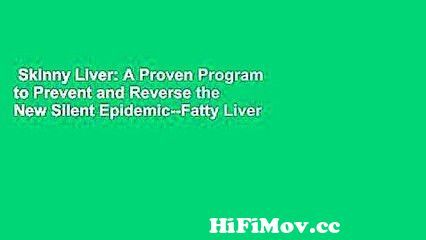View Full Screen: skinny liver a proven program to prevent and reverse the new silent epidemic fatty liver.jpg