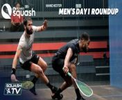 00:00 George Parker v Richie Fallows<br/>04:24 Declan James v Charlie Lee<br/>07:34 Josh Masters v Patrick Rooney<br/>09:57 Daryl Selby v Nick Wall <br/><br/>Watch LIVE and VOD on Squash TV<br/>https://psaworldtour.com/tv/live?YouTube<br/><br/>Subscribe Today on Youtube for all our updates <br/>http://www.youtube.com/subscription_center?add_user=psasquashtv<br/><br/>Website: https://psaworldtour.com<br/>Facebook: https://www.facebook.com/PSAworldtour<br/>Twitter: @SquashTV @PSAWorldTour<br/>Instagram: @psaworldtour<br/>PSA Foundation: http://psafoundation.com<br/><br/>#Squash #PSAWorldTour