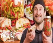 Welcome back for episode 88 of It's Alive with Brad Leone where this week our man with the plan sets out to pickle peppers. Now, pickled peppers obviously present a great tongue twister for a master linguist like Mr. Leone, but the real appeal lies in that they're delicious and add a kick to nearly anything. Make a jar and it will keep in the fridge for up to two weeks, giving you access to these chill chilies right when you want them.