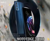 Motorola Moto Edge 20 Pro Review | Worth the upgrade?<br/>Tech Spurt40,365 views31 Aug 2021<br/>Reviewing the Moto Edge 20 Pro, Motorola's most premium smartphone of 2021, costing over £600 in the UK. I've been using it as my full-time phone all week, testing the camera tech, gaming performance and everyday experience. So here's my verdict on the Motorola Moto Edge 20 Pro and stay tuned for my unboxing and reviews of the rest of the series.<br/><br/>This OnePlus 9 and Samsung S20 FE rival is powered by the Snapdragon 870 chipset, backed by buckets of RAM. Gaming on Genshin Impact and other Android titles is therefore a breeze. You've got a strong camera setup too, including a dependable 108MP primary sensor and telephoto lens offering 5x optical zoom.<br/><br/>The Motorola Edge 20 Pro is a stock Android blower, one of its main advantages over some rivals, although the update promise isn't as strong as OnePlus, Samsung or Nokia. I enjoyed my time with this Moto smartphone, but I'd personally rather grab that S20 FE 5G.